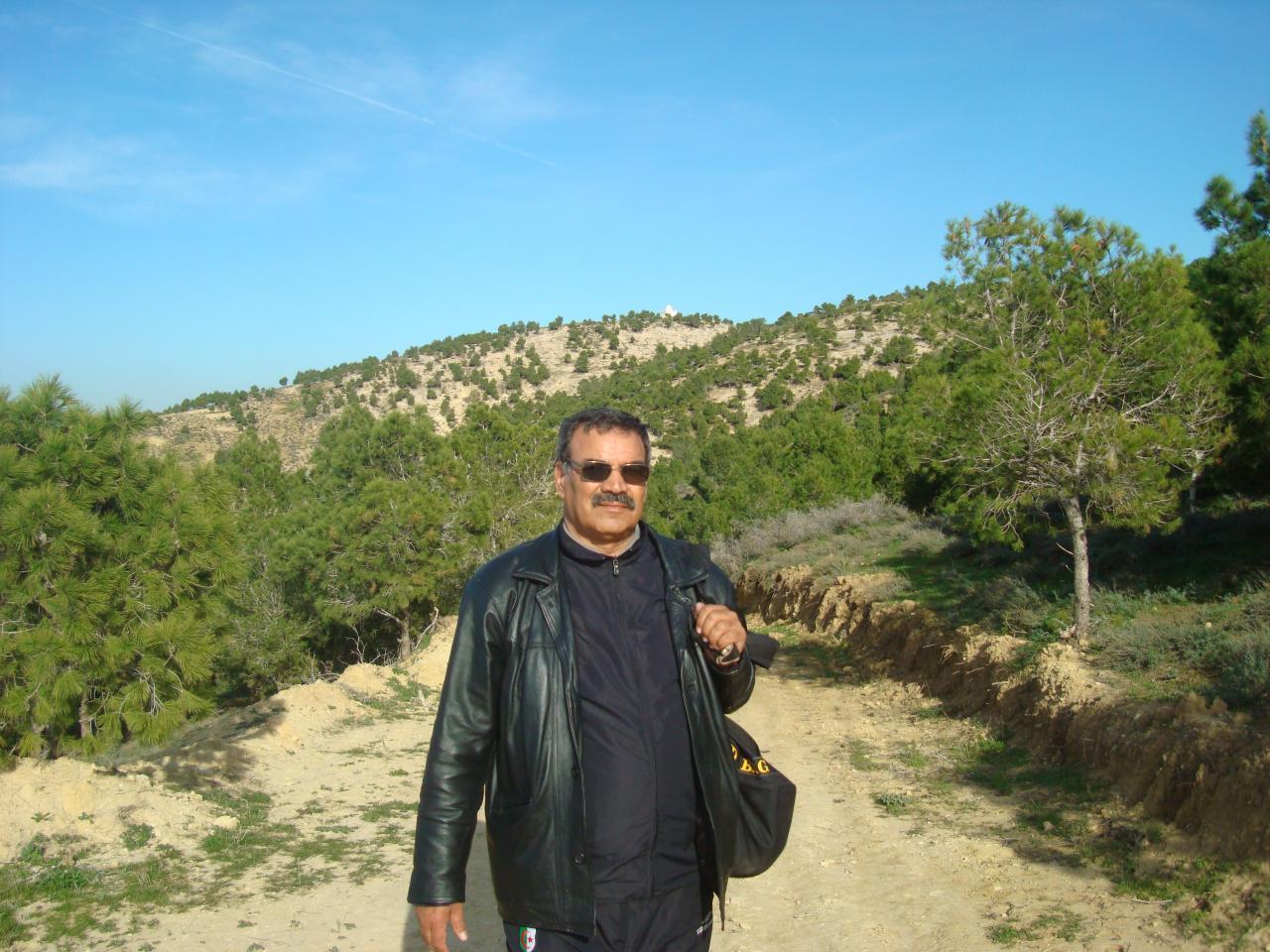 Habib Bendenia au Djebel El Djir El-Ghomri